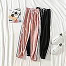Женские спортивные штаны джоггеры на резинке и со шнурком (р. единый 42-44) 77bu531, фото 4