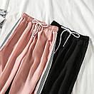 Женские спортивные штаны джоггеры на резинке и со шнурком (р. единый 42-44) 77bu531, фото 6
