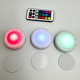 LED подсветка Светодиодные фонари Лампы для дома 3 шт Magic Lights с пультом, фото 5