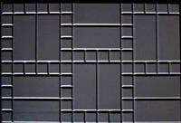 Форма  из АБС пластика для изготовления плитки  Блок дорожный  №3. Размеры  750х500х80 мм