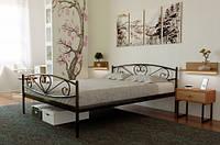 Кровать металлическая Милана-2 с изножьем