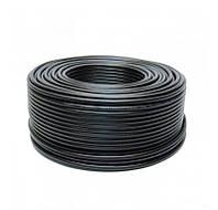 Телевизионный кабель FinMark 690BV бухта 100м. черный наружный 75 ОМ