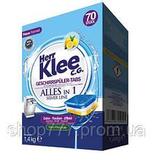 Таблетки для посудомоечных машин Herr Klee, 70шт