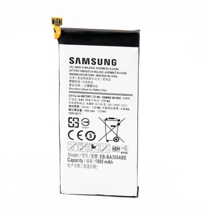 Новый Аккумулятор EB-BA300ABE для Samsung Galaxy A3/A300 2015 1900 mAh