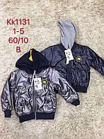Куртки для мальчиков оптом, размеры 1-5 лет, S&D, арт. KK-1131