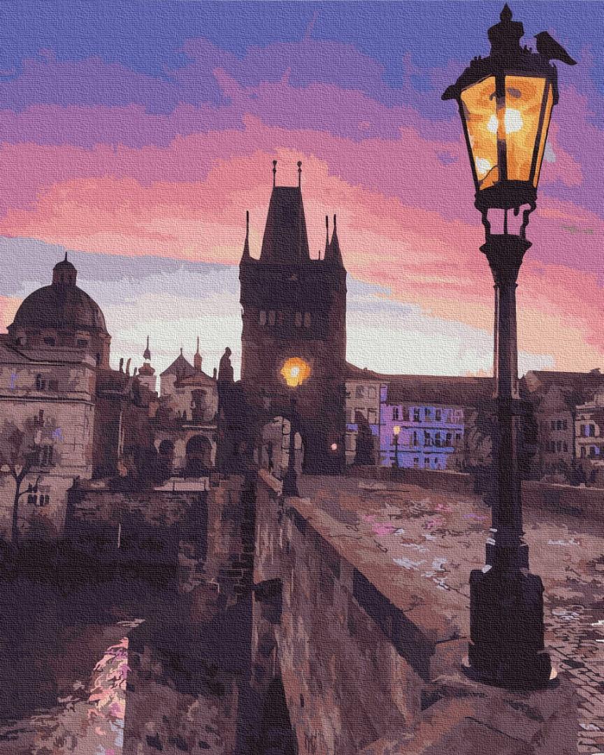 Картина по номерам Карлов мост BrushMe 40*50 GX29708