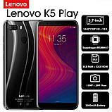 Смартфон Lenovo K5 Play 3/32GB Blue, фото 7