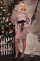 Теплое женское платье Ангелина 230-4
