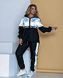 Спортивный костюм двойка кофта на молнии и штаны размер: 48-52, 54-58, 60-64., фото 3