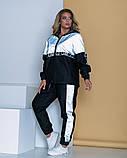 Спортивный костюм двойка кофта на молнии и штаны размер: 48-52, 54-58, 60-64., фото 4