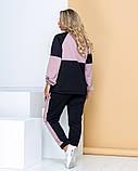 Спортивный костюм светоотражающий двойка кофта на молнии и штаны размер: 48-52, 54-58, 60-64., фото 2