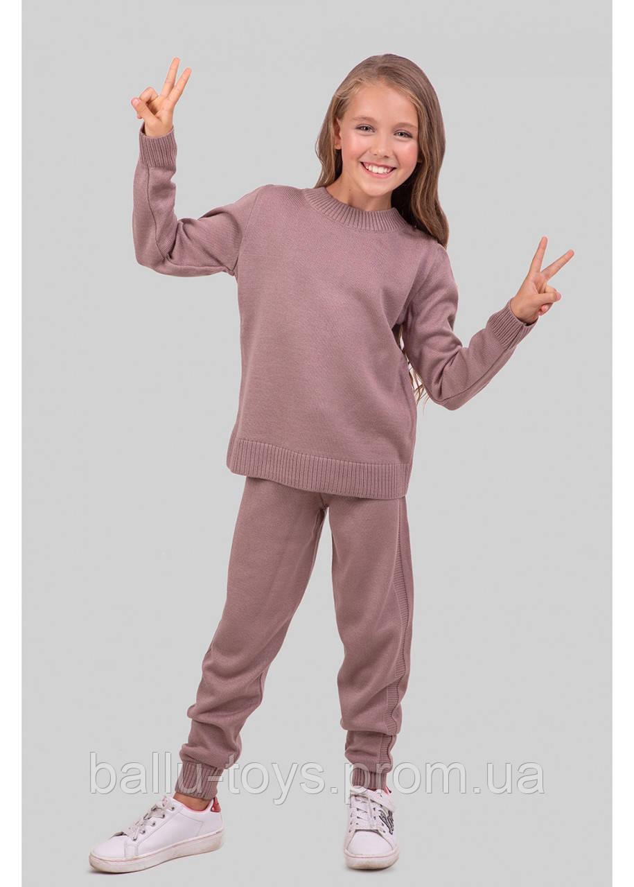 Теплый костюм для девочки Глория