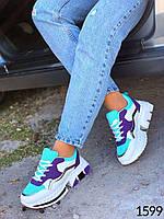 Женские модные кроссовки на платформе 38 размер стелька 24 см