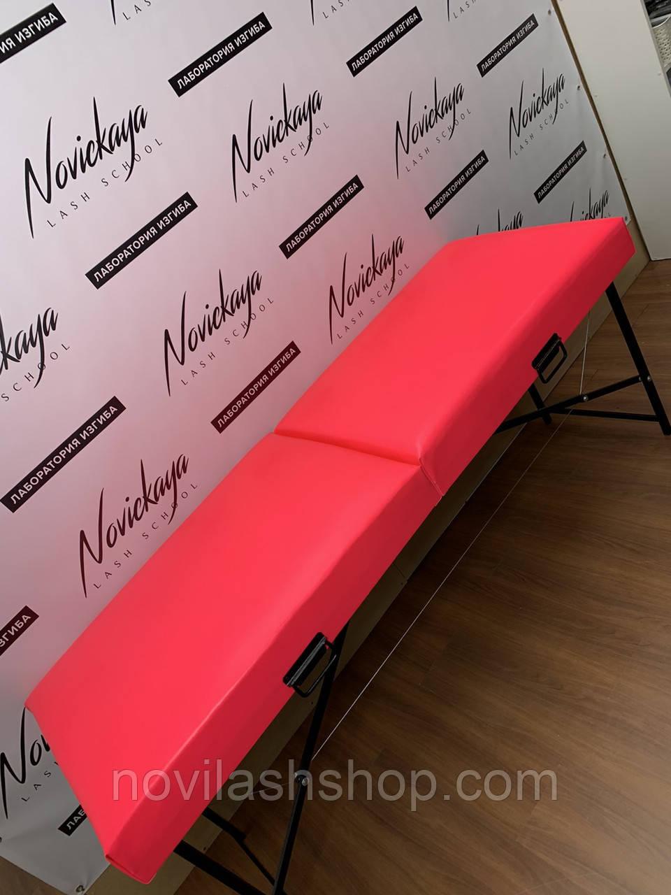 Кушетка для нарощування вій/масажний стіл XXL