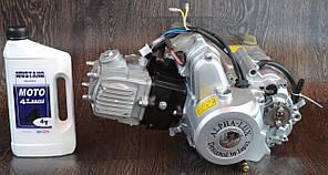 Двигун на мопед Альфа; Дельта 110 куб, механіка + ПОДАРУНОК Масло 1л