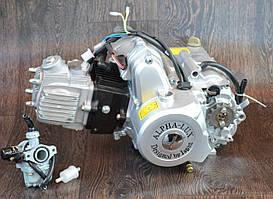 Двигун на мопед Альфа; Дельта 110 куб, механіка + ПОДАРУНОК карбюратор