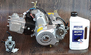 Двигун на мопед Альфа; Дельта 110 куб, механіка + ПОДАРУНОК масло і карбюратор