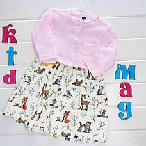 """Платье с кофточкой от Hudson Baby """"Лесная сказка"""" 6м"""