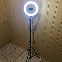 Кольцевая лампа 26 см со штативом на 2м Ring Fill Light для телефона селфи кольцо кольцевой свет led блогеров