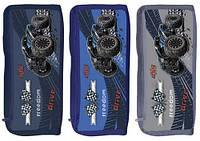 Пенал-косметичка для хлопчиків темно-синій, синій, сірий Freedom KIDIS
