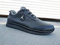 Мужские зимние кроссовки больших размеров кожа 46-50 р-р, фото 1