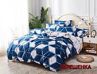 """Комплект постельного для двуспальной кровати из бязи """"Gold"""" №151420АВ"""
