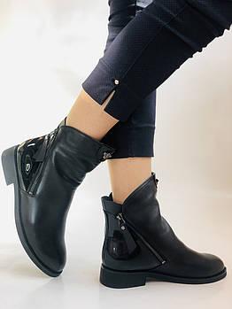 Женские ботинки. Осенне-весенние. Натуральная кожа. Высокое качество. Vistally. Р. 39. Vellena
