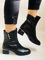 Жіночі черевики. На середньому каблуці. Натуральна шкіра.Висока якість. Polann. Р. 36, 38,39, 40.Vellena, фото 8