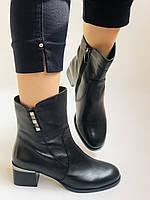 Жіночі черевики. На середньому каблуці. Натуральна шкіра.Висока якість. Polann. Р. 36, 38,39, 40.Vellena, фото 9