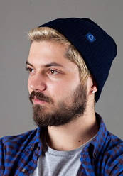 Мужская трикотажная шапка Shado 7599