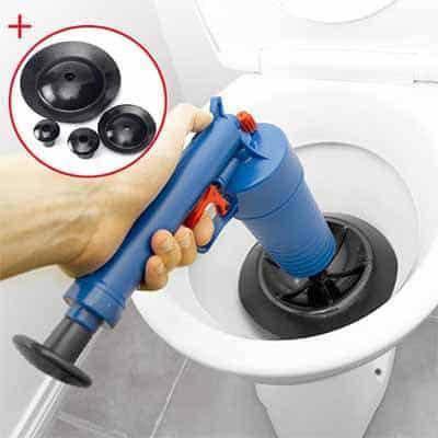 Очиститель канализации высокого давления Drain Jet | Приспособление для чистки унитаза, фото 2
