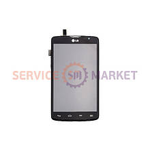 Дисплей с тачскрином и корпусом для LG Dbal Sim D380 L80
