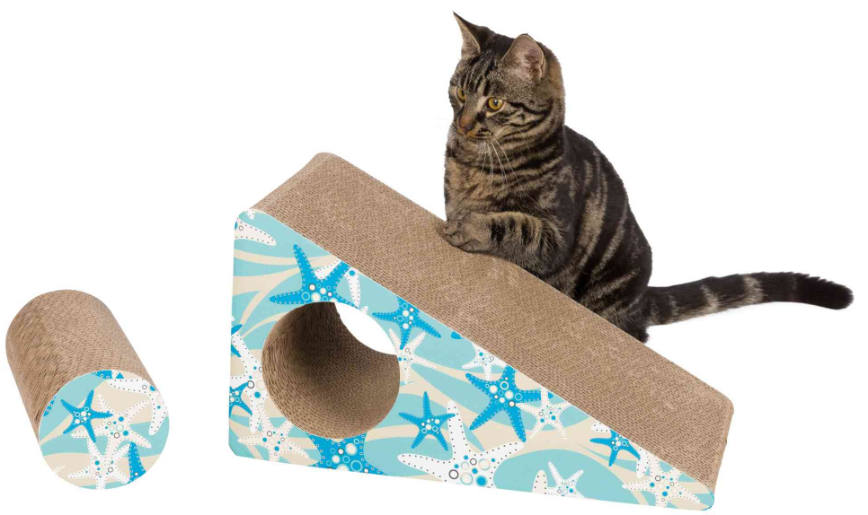 Trixie TX-48003 забава - когтеточка  для кошек 44 × 23 × 21 см