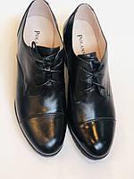 Стильні жіночі туфлі.Натуральна шкіра.Середній каблук. Polann.Р. 38,40, фото 10