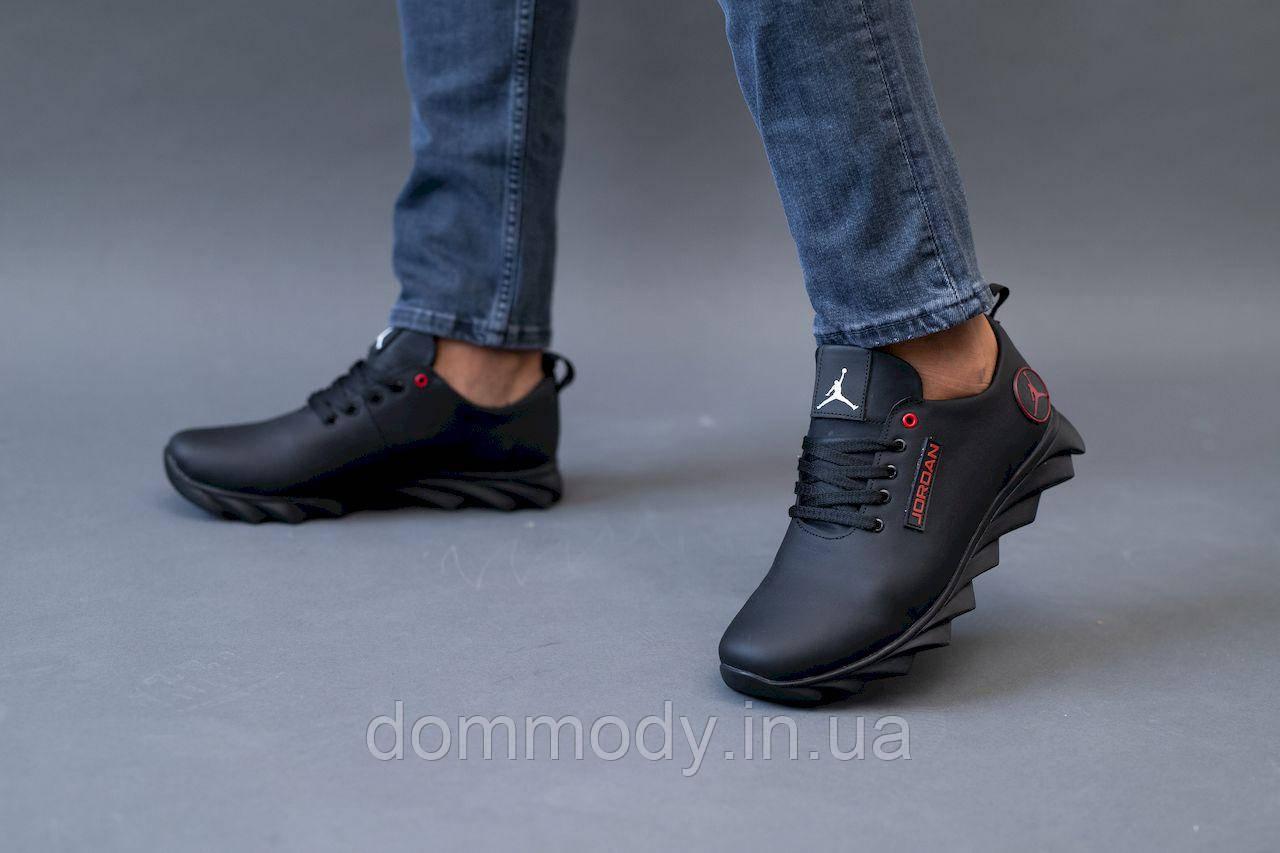 Кросівки чоловічі чорного кольору Lordan