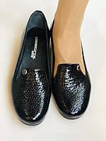 Хит!  Женские туфли на низкой танкетке .Натуральная лакированная кожа.Турция. Высокое качество  37,39, фото 9