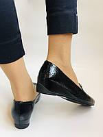 Хит!  Женские туфли на низкой танкетке .Натуральная лакированная кожа.Турция. Высокое качество  37,39, фото 4
