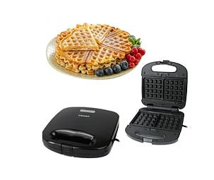 Сендвичница мультипекарь 4в1 GrandHoff GT-780 1200W 4 в 1 сендвичница-гриль-вафельниця, горішниця, фото 2