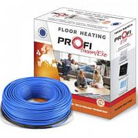 Электрический пол тонкий греющий кабель    4м.кв 600Вт Profi therm EKO FLEX, фото 1