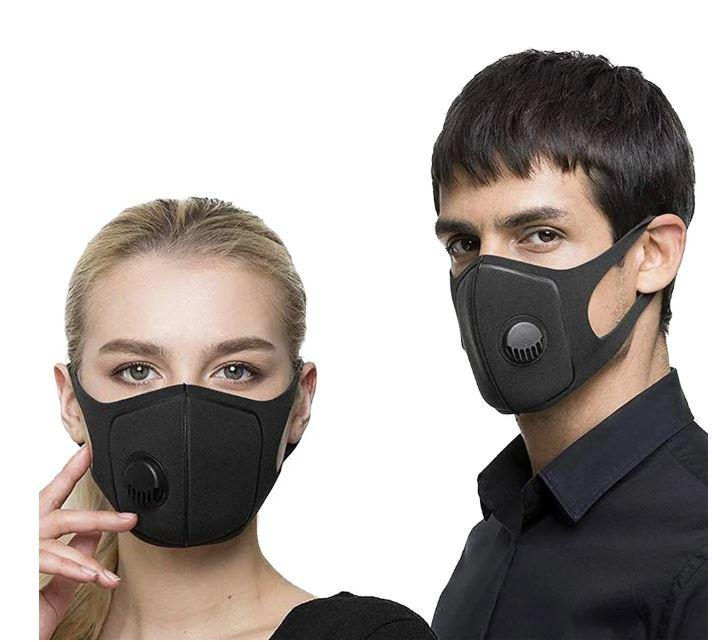 "Захисна маска-респіратор від вірусів ""Activated Carbone Mask"", багаторазова"