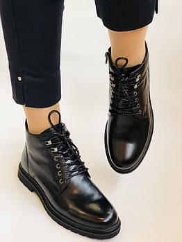 Anemone. Женские осенние ботинки. На низком каблуке. Натуральная кожа.Размер 39. 40.