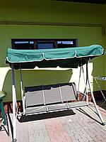 Крыша тент из непромокаемой ткани на садовые качели 190х130