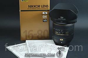 AF-S Nikkor 16-80mm f2.8-4.0 E ED VR стан нового!