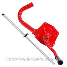 Насос для масла ручной роторный Intertool HT-0067  26л/мин