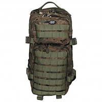 """Рюкзак 30л американського (США) типу MFH """"Assault I"""" цифровий лісової камуфляж"""