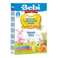 Bebi Premium молочная каша - Гречка, курага, яблоко