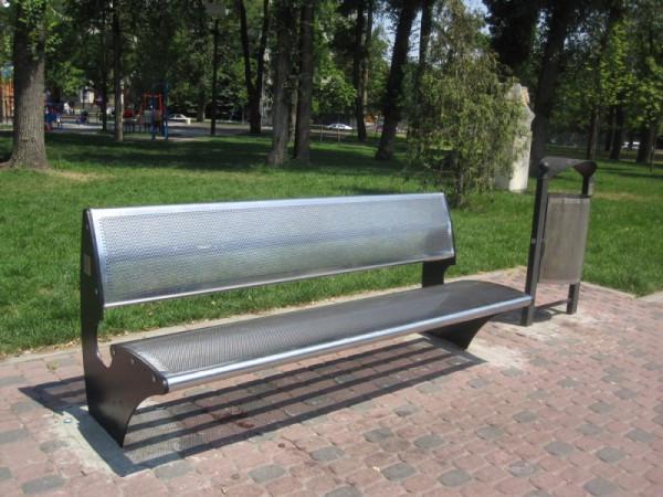 Скамейки металлические