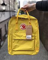 Рюкзак, портфель Kanken Fjallraven Classic 16л все цвета, для школы    - Реплика ААА Класса!!, фото 4