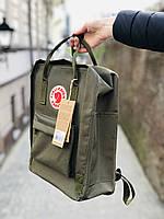 Рюкзак, портфель Kanken Fjallraven Classic 16л все цвета, для школы    - Реплика ААА Класса!!, фото 7
