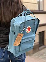Рюкзак, портфель Kanken Fjallraven Classic 16л все цвета, для школы    - Реплика ААА Класса!!, фото 10